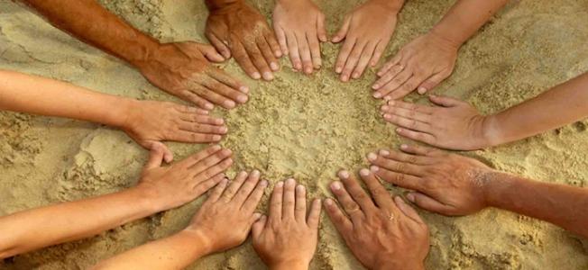 People's mandala - 12 hand